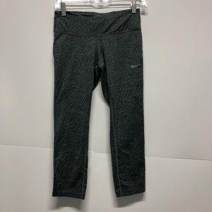 Nike leggings capri midi squiggle yoga workout B2